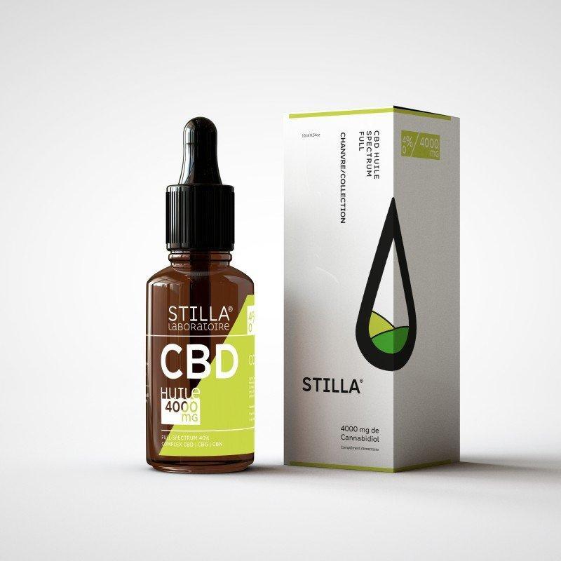 huile cbd 40 4000mg stilla full spectrum